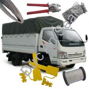 Gợi ý 2 loại khóa niêm phong hiệu quả, dễ dàng thao tác cho xe tải bạt