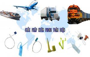 Lợi ích của seal nhựa niêm phong trong vận chuyển hàng hóa