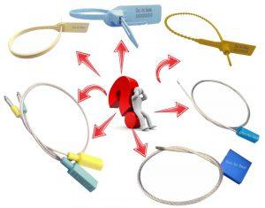 Tìm hiểu về dây niêm phong hàng hóa