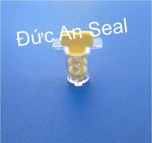 Seal niêm phong kẹp chì nhựa vặn xoay xoắn ốc DA17