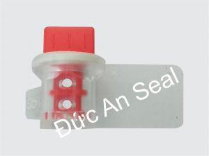Seal niêm phong kẹp chì nhựa vặn xoay xoắn ốc to DA37
