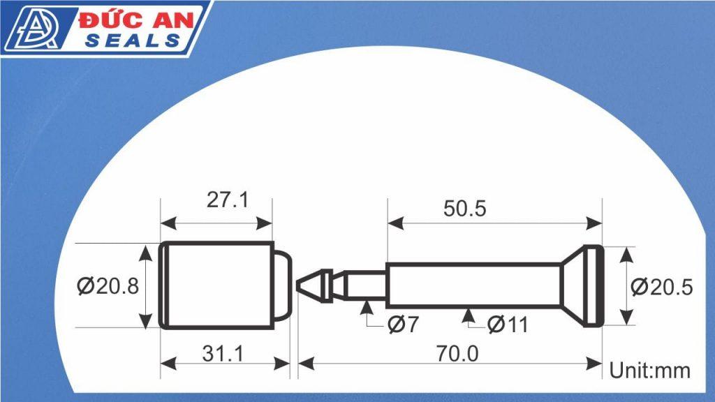 khóa kẹp chì cối seal niêm phong container chì kẹp công da10 -5-min