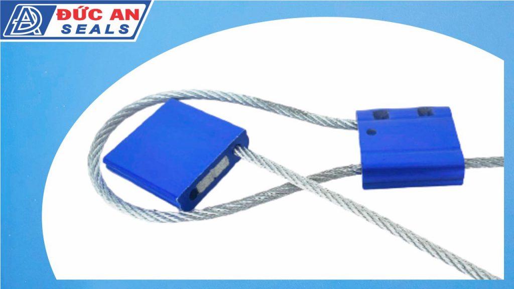 khóa kẹp chì seal niêm phong dây cáp hộp nhôm 3mm (1)