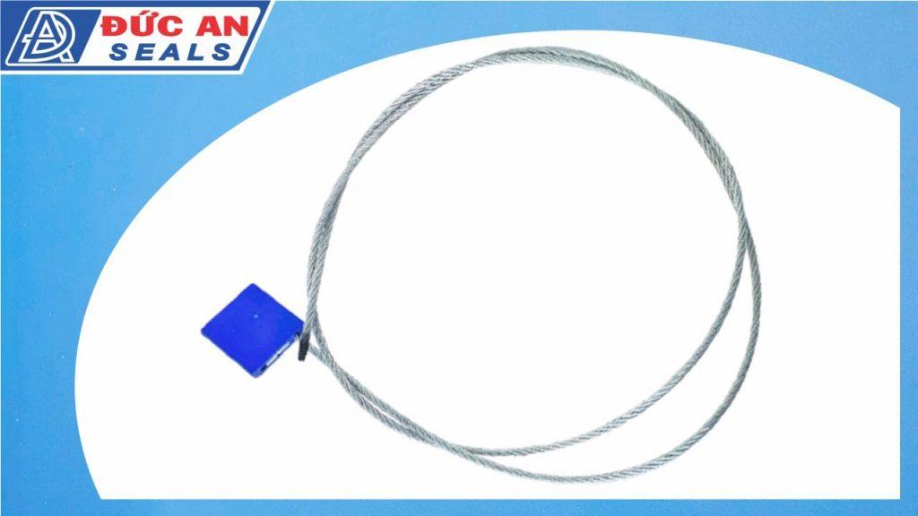 khóa kẹp chì seal niêm phong dây cáp dài 1m hộp nhôm 3mm (2)