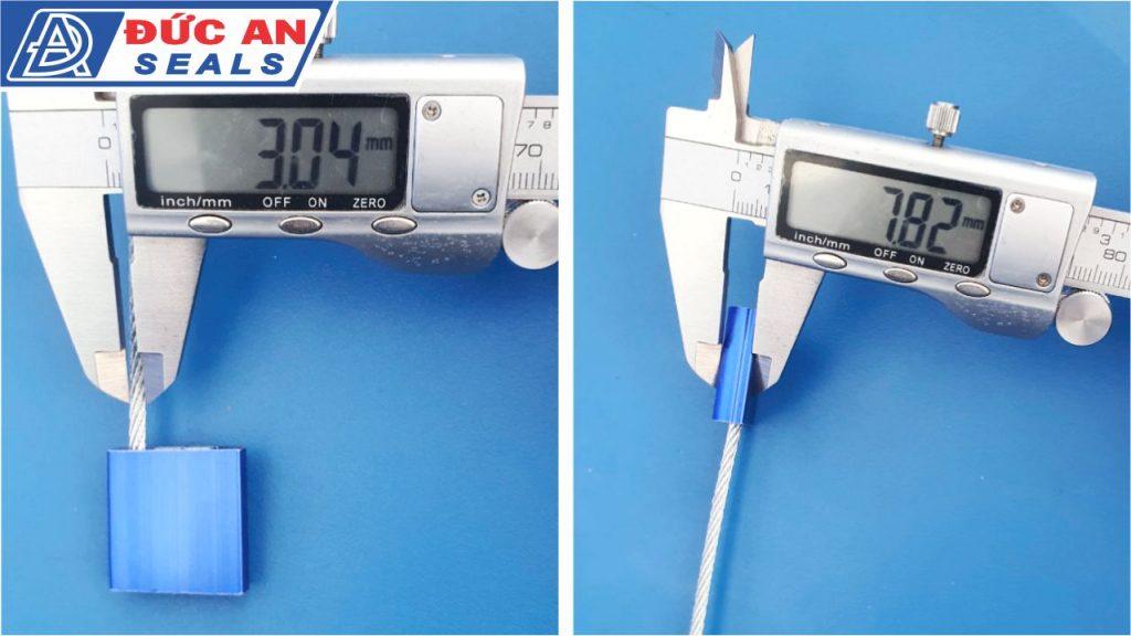 khóa kẹp chì seal niêm phong dây cáp hộp nhôm 3mm (4)