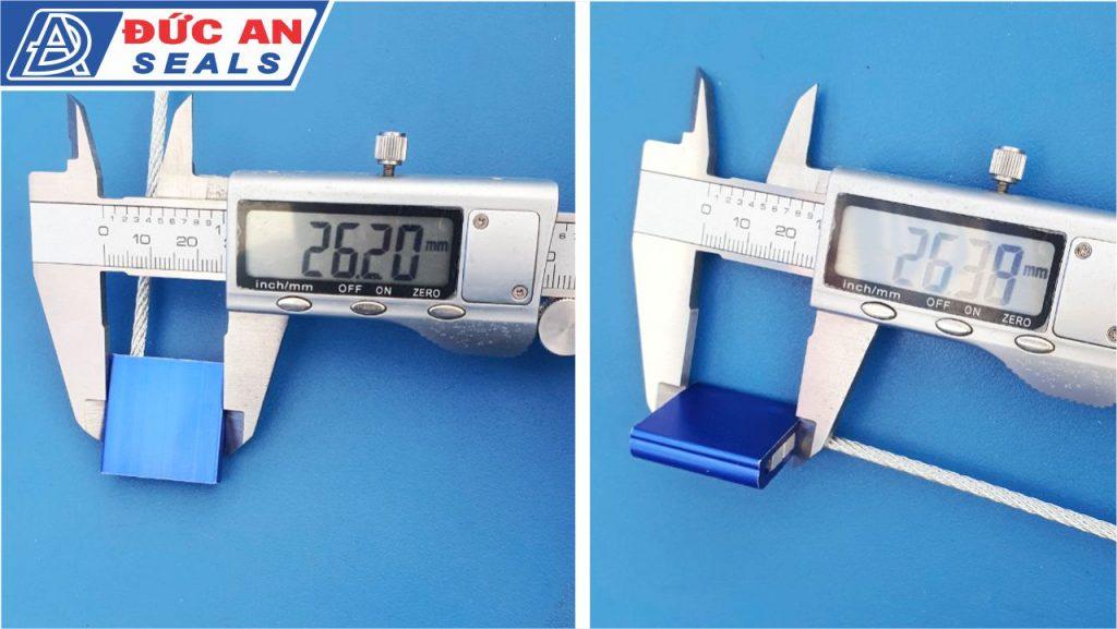 khóa kẹp chì seal niêm phong dây cáp hộp nhôm 3mm (5)