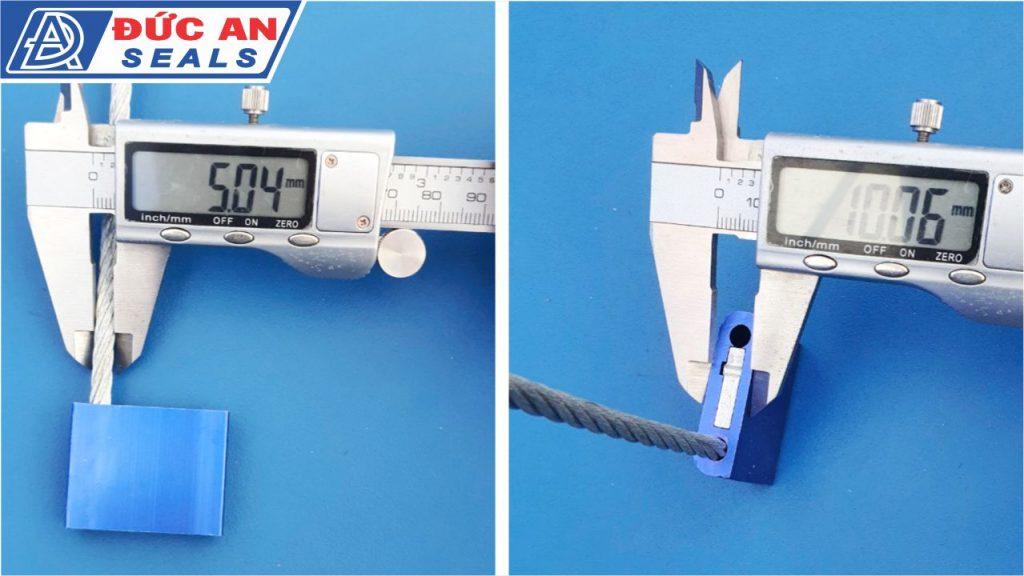khóa kẹp chì seal niêm phong dây cáp hộp nhôm 5mm (4)