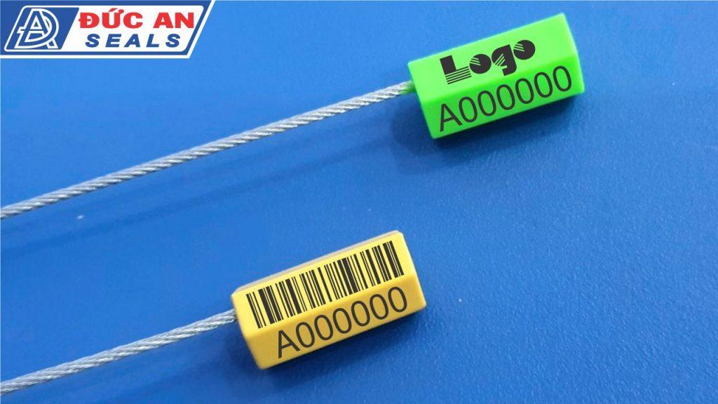 khóa kẹp chì seal niêm phong dây cáp rút cable seal in mã vạch bar code(6)