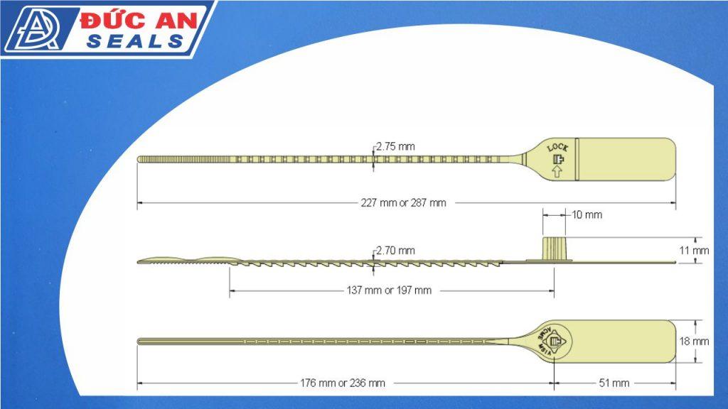 khóa kẹp chì seal niêm phong dây thít rút nhựa răng cưa nhỏ m seal da13 (4)