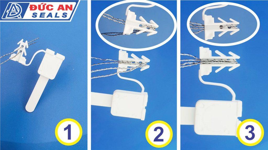 khóa kẹp chì seal niêm phong nhựa 4 ngạnh mỏ neo (5)-min