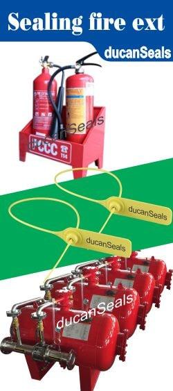 kẹp chì seal niêm phong bình chữa cháy cứu hỏa