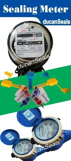 kẹp chì seal niêm phong công tơ đồng hồ điện nước taxi